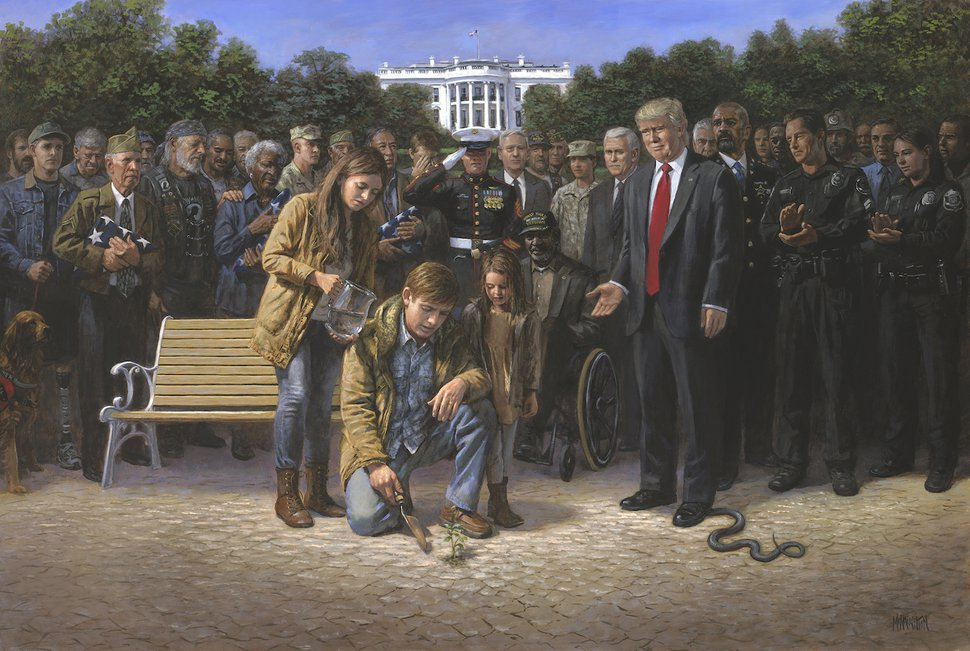 (Photo courtesy of McNaughton Fine Art Company) Provo painter Jon McNaughton's latest work,