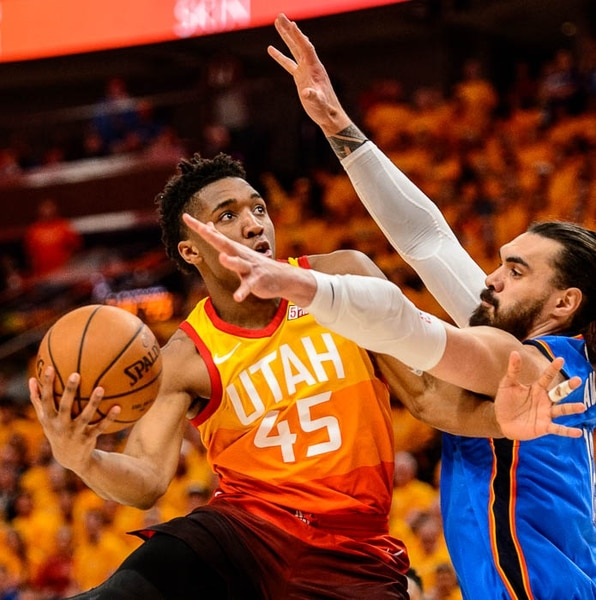 ricky rubio s triple double carries jazz to game 3 rout of thunder