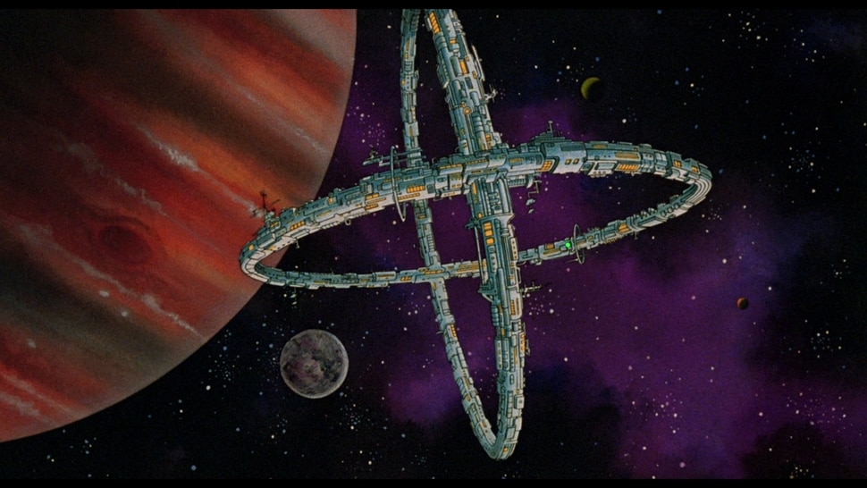 (courtesy photo) A space station is one of the backdrops in the 1981 fantasy anthology