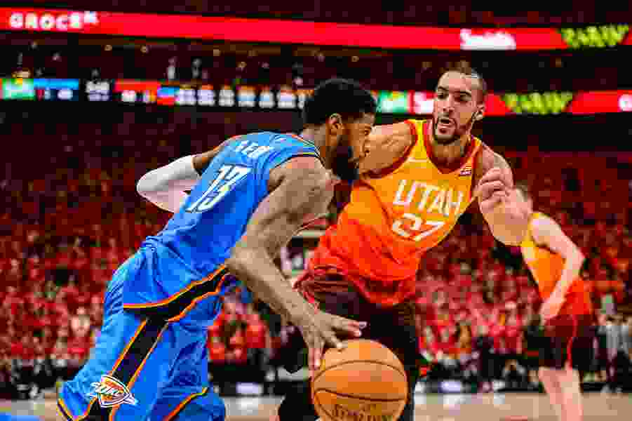 Jazz center Rudy Gobert spearheads the All-NBA Defensive Team, looks the favorite for Defensive Player of the Year
