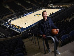 (Francisco Kjolseth  | Tribune file photo) Utah Jazz owner Ryan Smith, pictured Wednesday, Dec. 16, 2020, at Vivint Smart Home Arena. He is a co-founder of Provo-born Qualtrics, which took in $1.55 billion in its initial stock offering.