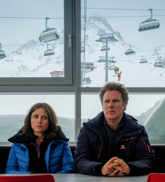 (Photo courtesy of Sundance Institute) Julia Louis-Dreyfus and Will Ferrel play a married couple on an uneasy vacation in Downhill, directing by Jim Rash and Nat Faxon, an official selection of the Premieres program at the 2020 Sundance Film Festival.