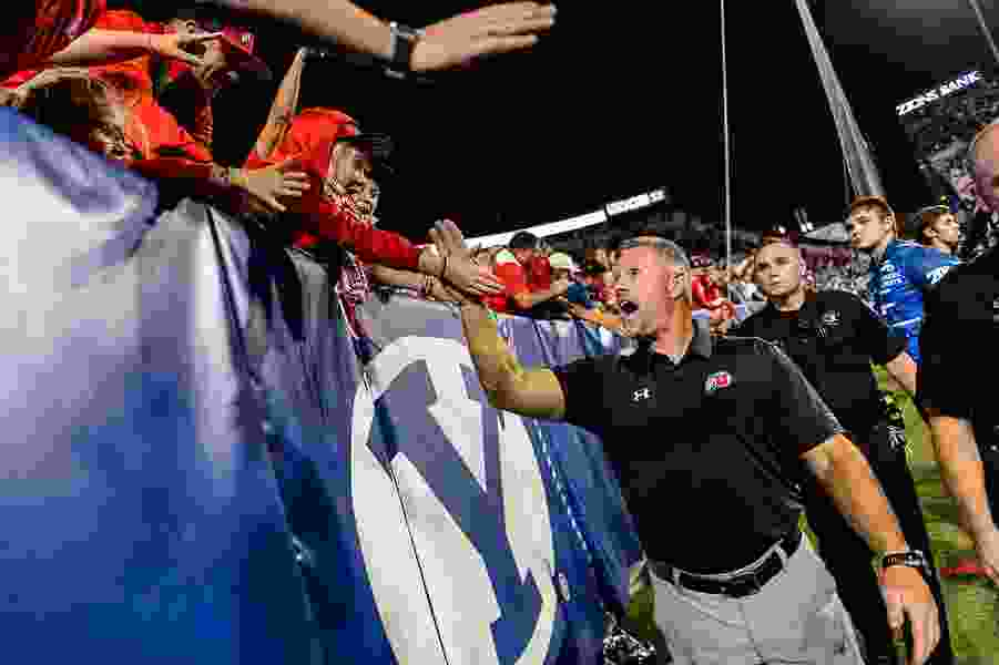 Utah vs. BYU football rivalry game will have a late-night kickoff; so will Utah State-Boise State showdown