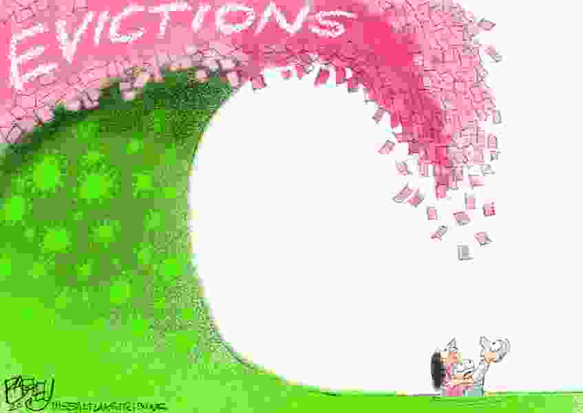 Bagley Cartoon: Second Wave