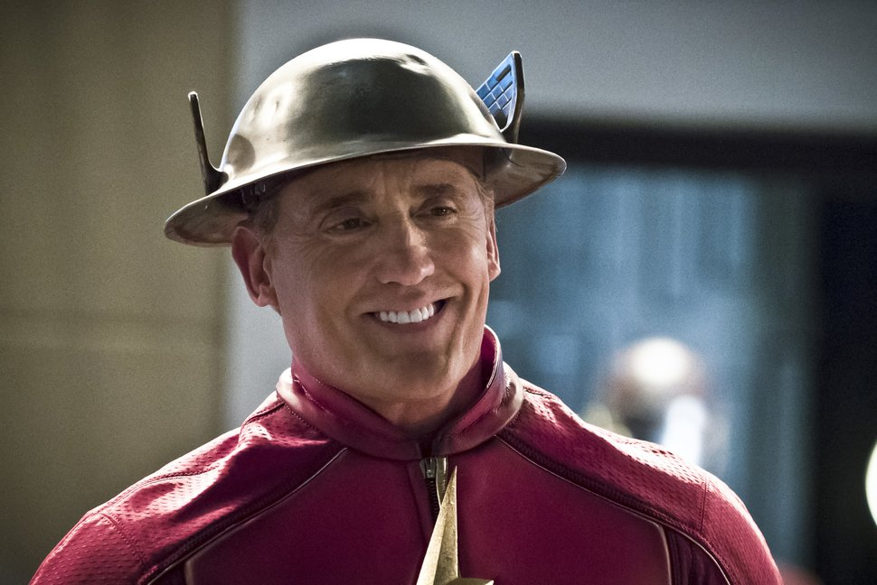 """(Photo courtesy of Katie Yu/The CW) John Wesley Shipp as Henry Allen in """"The Flash."""""""