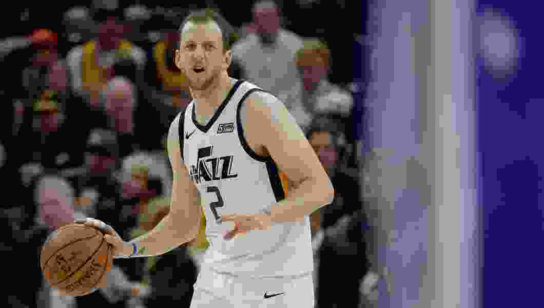 Joe Ingles just went through his most challenging season in the NBA. He's eager to clean the slate and get back at it.