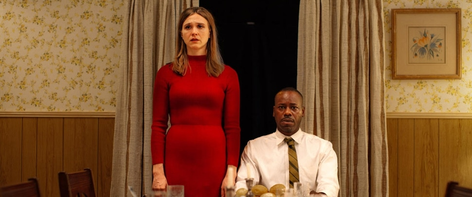 (Skybound Entertainment | courtesy Sundance Institute) Sarah Sokolovic (left) and Malcom Barrett portray Betty and Barney Hill, victims of one of the first widely reported cases of being abducted by aliens, in director Angel Manuel Soto's
