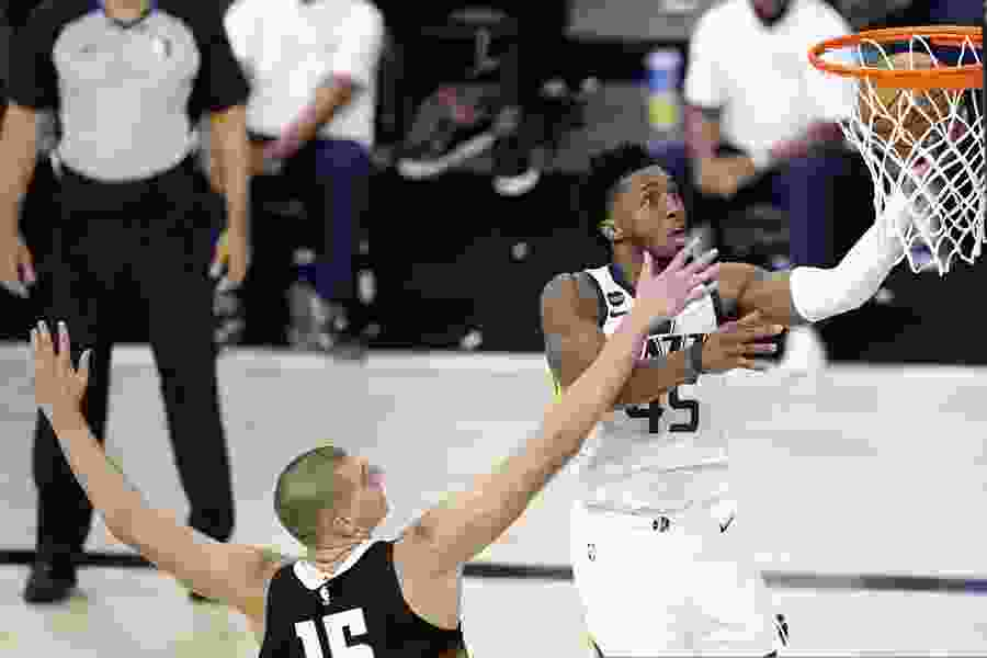 Gordon Monson: Oh, baby! Donovan Mitchell soars, nearly delivering a Utah Jazz victory in Game 1