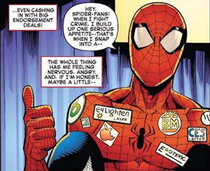 4015d3e2e9a Marvel removes logo deemed anti-Mormon from latest edition of 'The Amazing  Spider-Man'