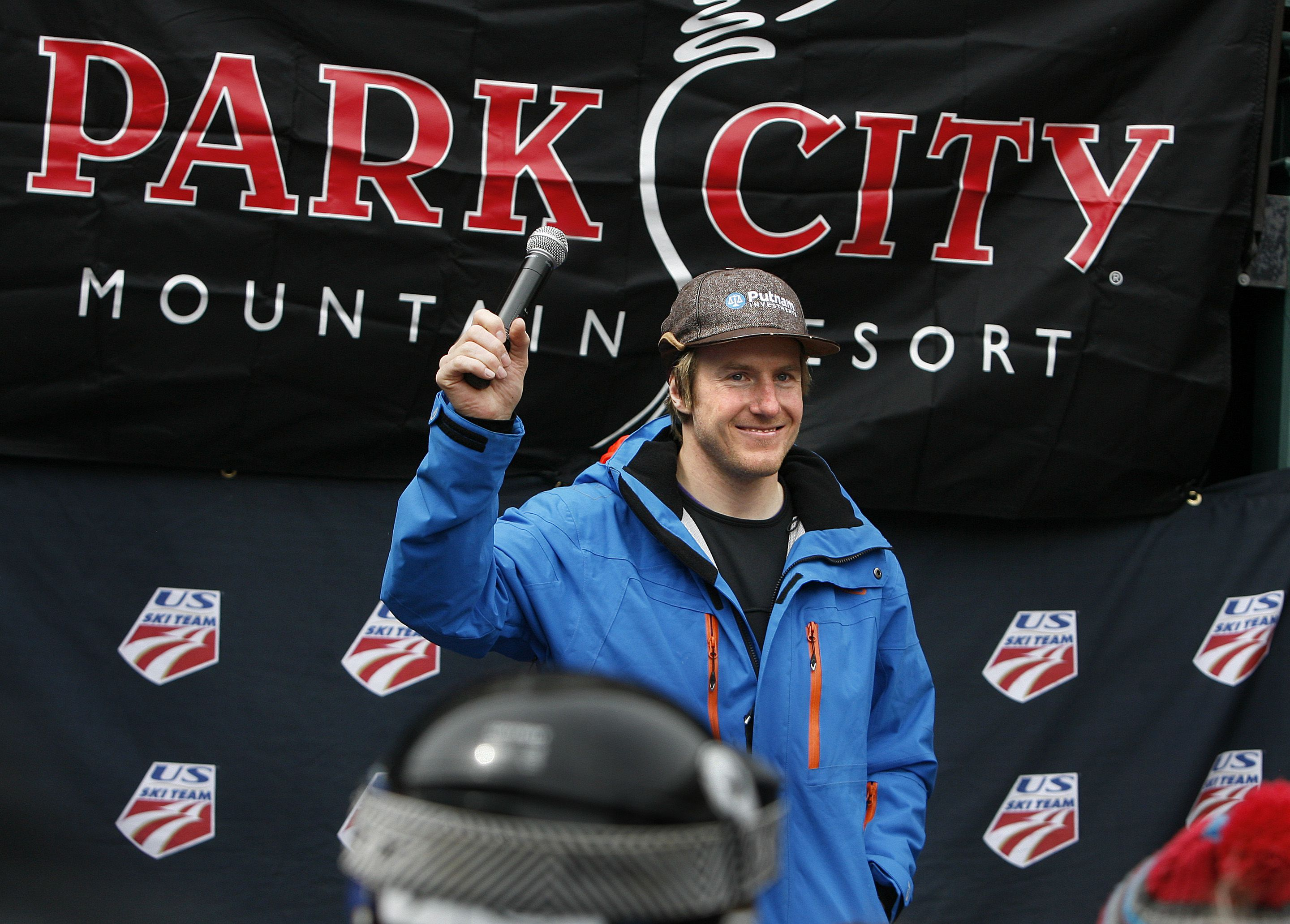 Scott Sommerdorf   |  The Salt Lake Tribune file Ski racer Ted Ligety acknowledges the applause from the crowd of admirers at Park City Mountain Resort in 2013. Ligety, the first male racer in 45 years to claim three world championship titles in a year — giant slalom, super G and combined, has been named to the strategic board for the Salt Lake City-Utah Committee for the Games.