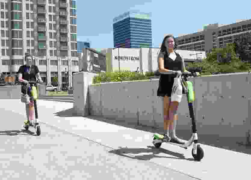'Scooter wars' come to Salt Lake City with the addition of a second dockless company — and more may be coming
