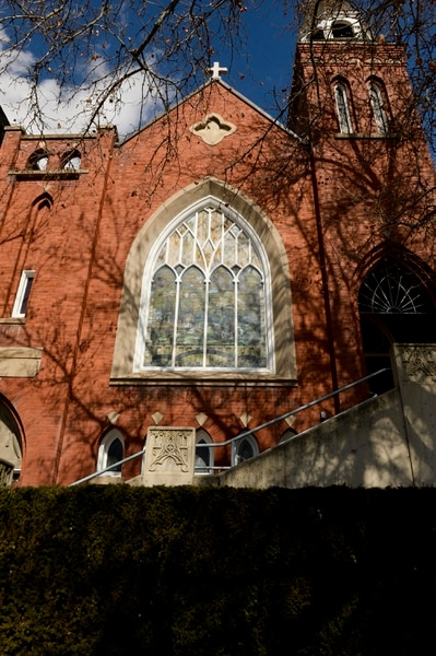 Leah Hogsten | The Salt Lake Tribune The historic Danish Evangelical-Lutheran Church in The Avenues is for sale for $1.05 million. The 110-year-old former church has been renovated and has been used as office space for 30 years.The church property incudes a three bedroom residence.