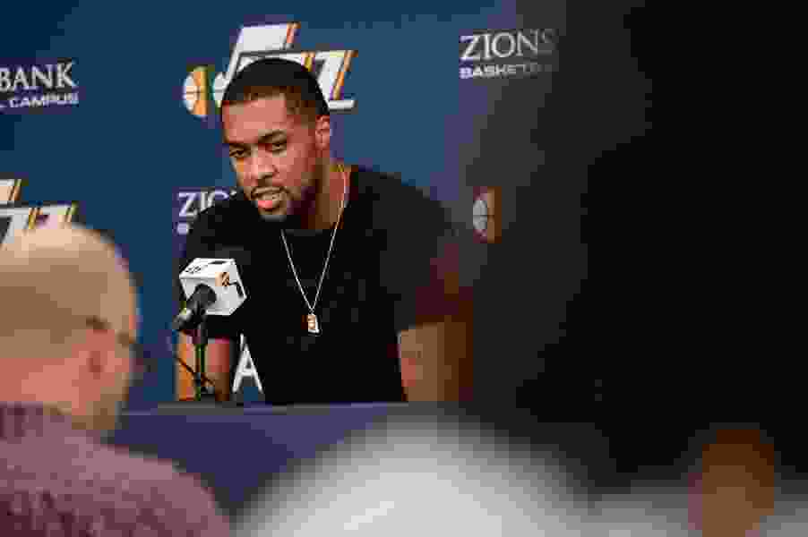 The Derrick Favors dilemma: Jazz want their 'anchor' back, but that might block their clearest path to progress