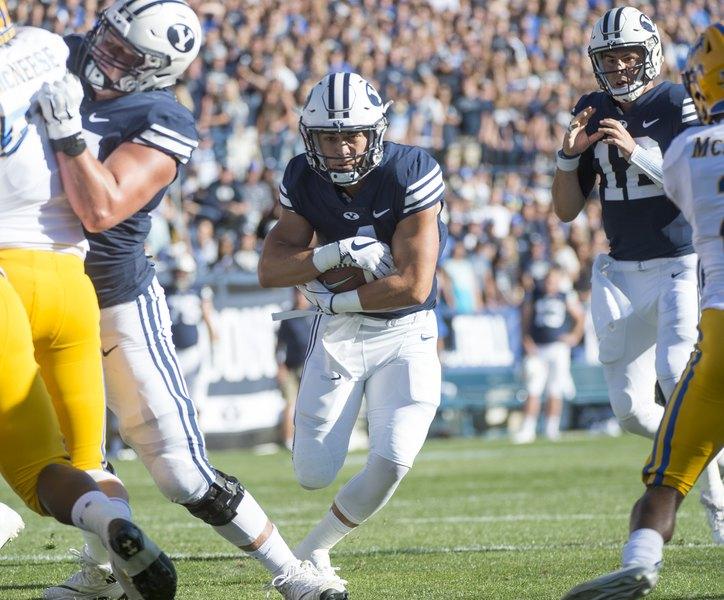 BYU's improved running game will face stiff test vs. Utah
