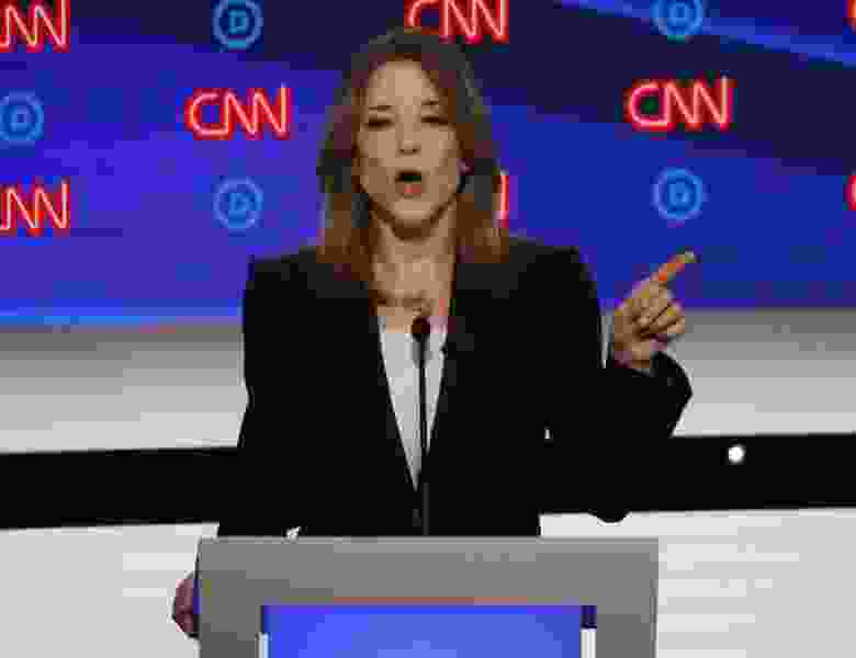 Commentary: The self-centered religion shared by Marianne Williamson and Donald Trump