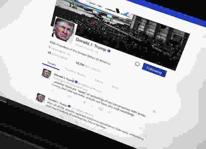 For 11 minutes, Trump's Twitter account disappeared. Here's what happened.