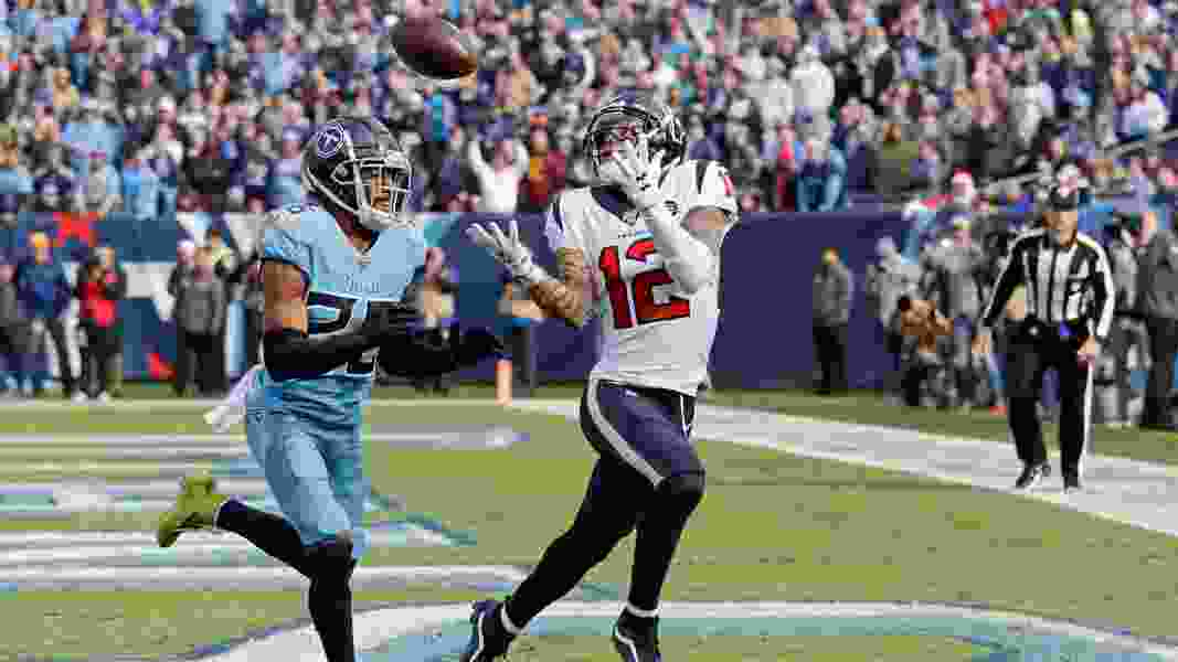 NFL roundup: Texans grab AFC South lead with win over Titans; Chiefs beat Broncos for ninth straight time
