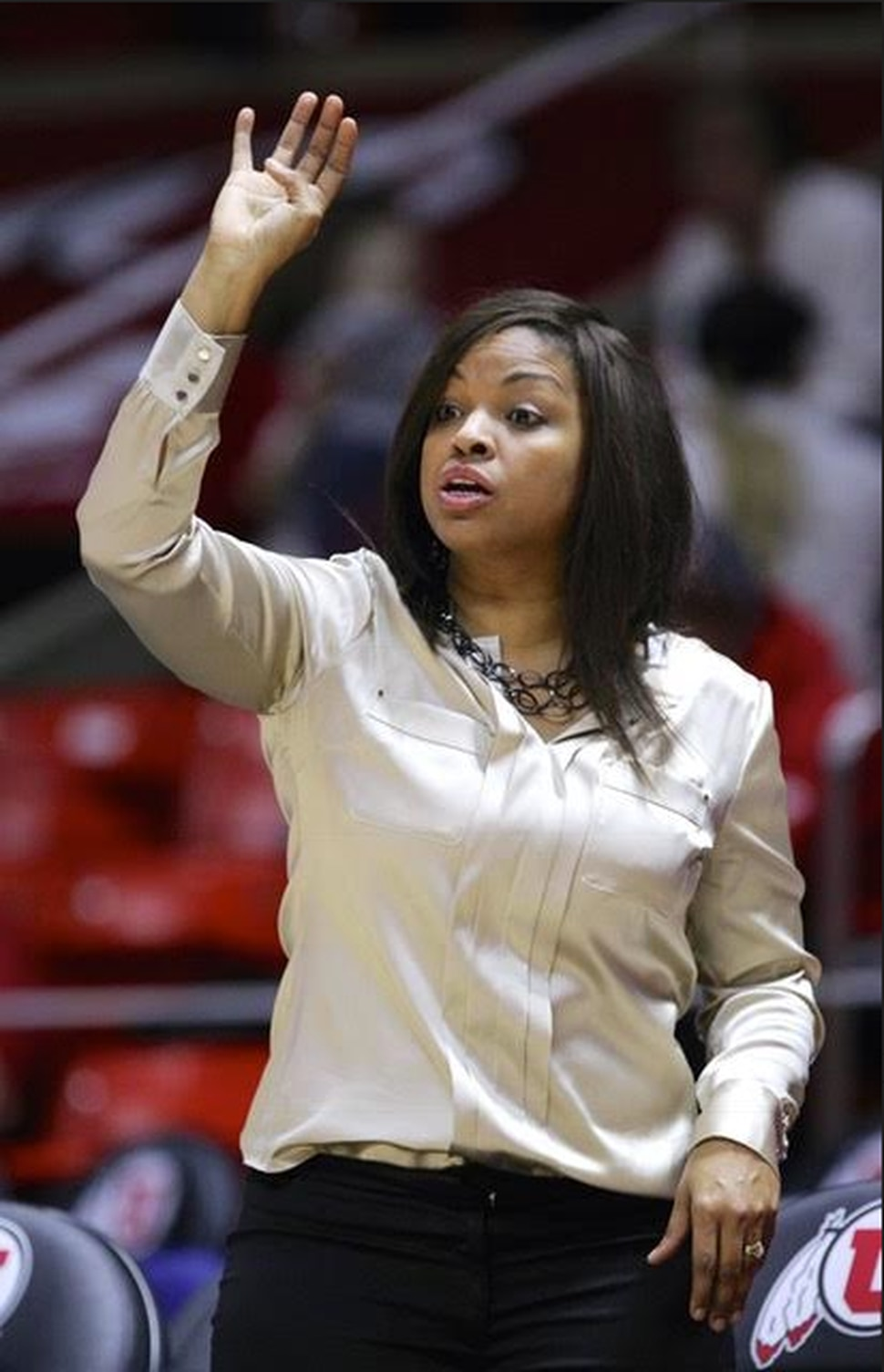 New Weber State women's basketball coach Velaida Harris.
