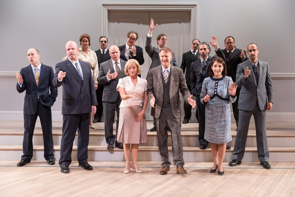 (photo courtesy Pioneer Theatre Company) The cast of Pioneer Theatre Company's production of J.T. Rogers' Tony-winning play Oslo. The play runs at Pioneer Memorial Theatre from Sept. 14 to 29.