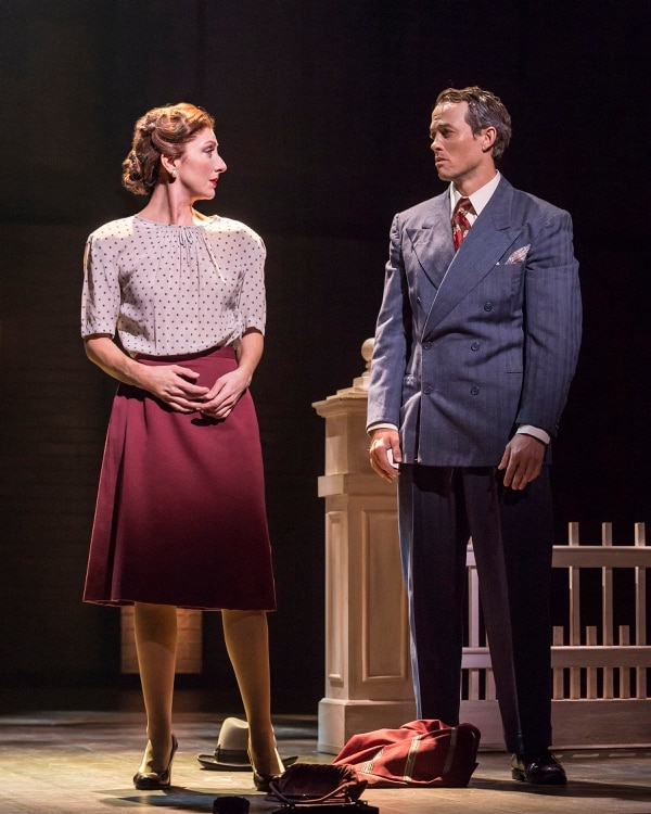 (Courtesy photo by Craig Schwartz) Carmen Cusack and Patrick Cummings in Steve Martin and Edie Brickell's ""