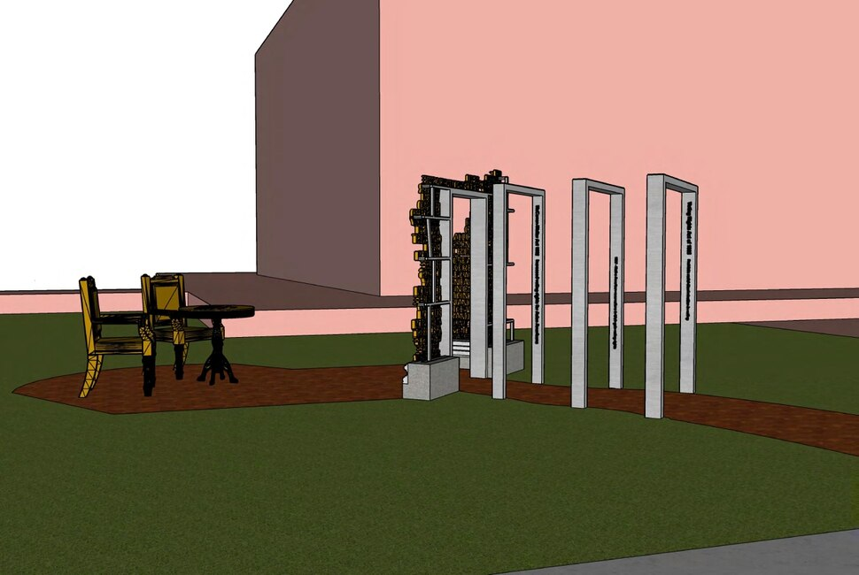 (Photo courtesy of Better Days 2020) The sculpture will be located on the northeast corner of the lawn of historic Council Hall on State Street.