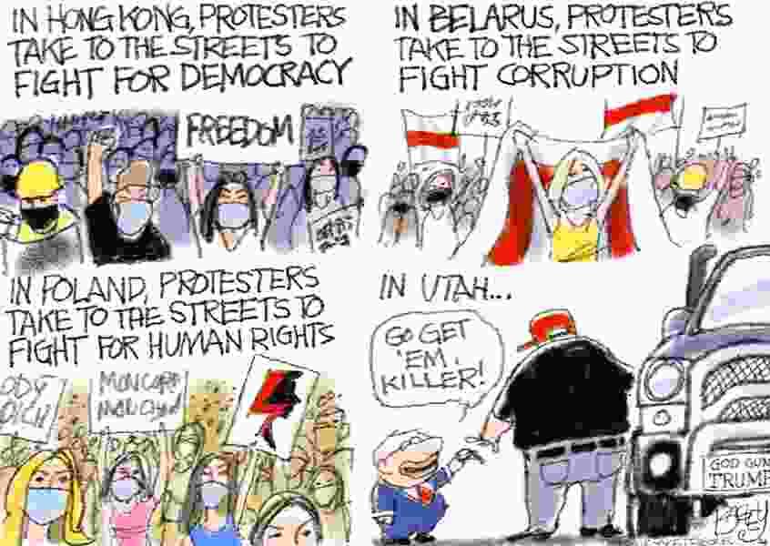 Bagley Cartoon: Fight the Power