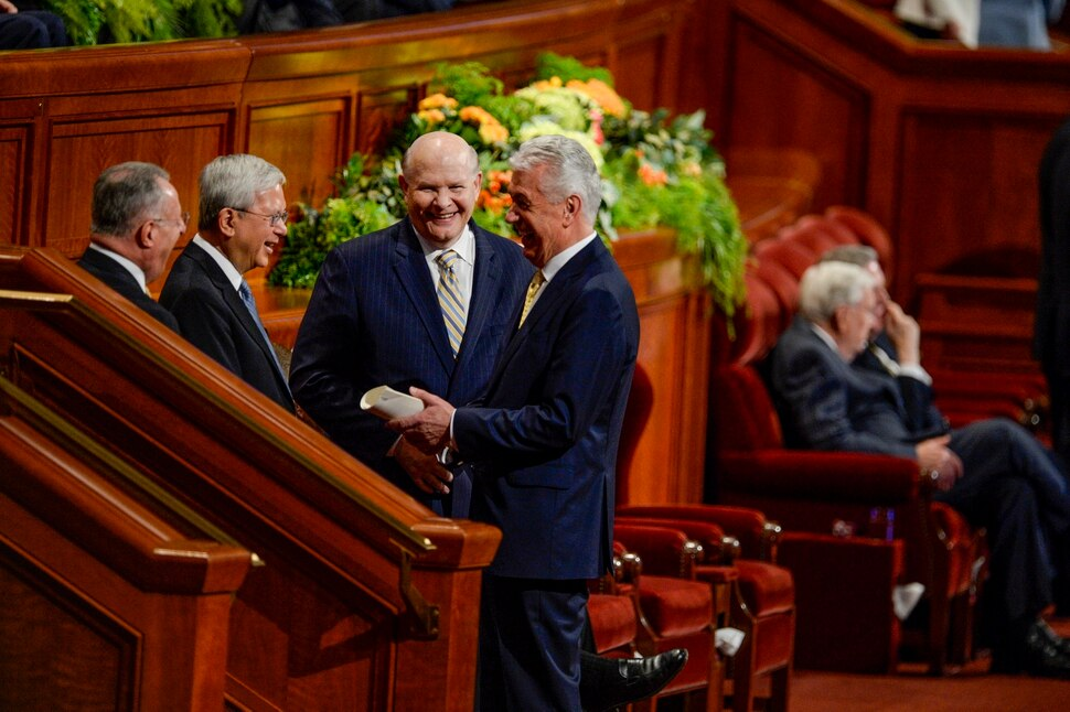 The latest from LDS General Conference: Apostle praises gay