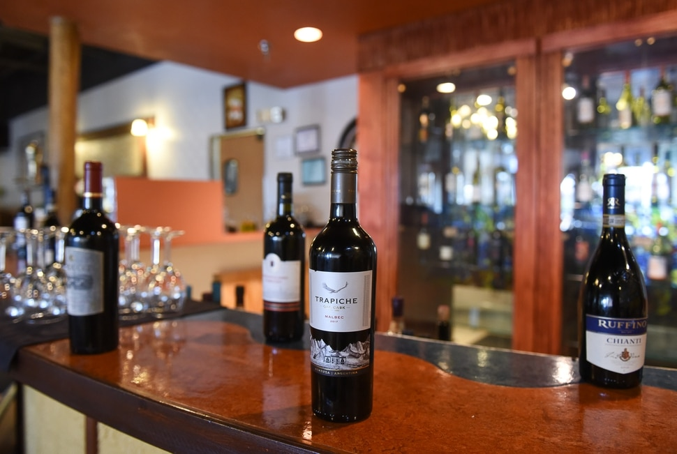 (Francisco Kjolseth | The Salt Lake Tribune) Per Noi Trattoria, a popular Italian restaurant in Salt Lake City, just opened a second location at 8657 S. Highland Drive in Sandy with an extensive wine selection.