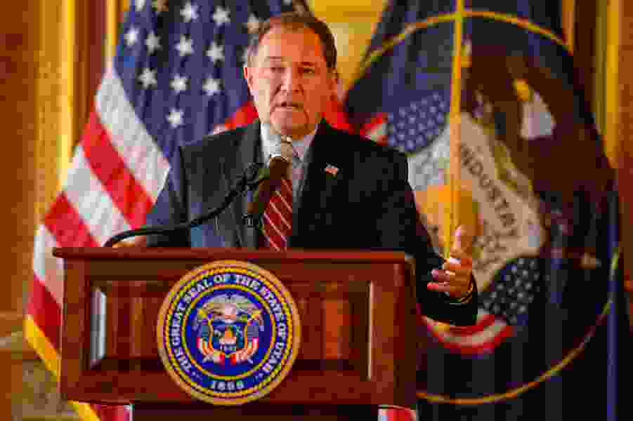 Gov. Herbert is fundraising to launch a policy center in his name at Utah Valley University