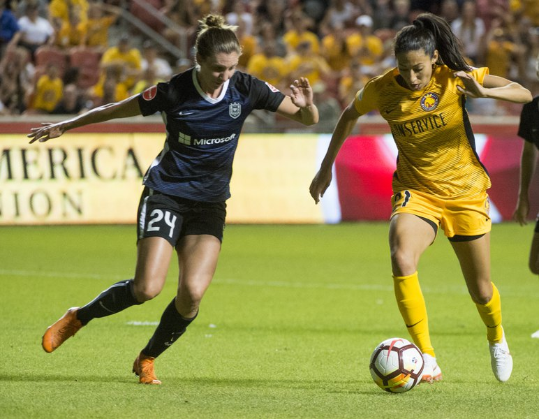 764430adf2d Christen Press lifts Utah Royals FC to 1-0 win over Orlando Pride with  first goal of season