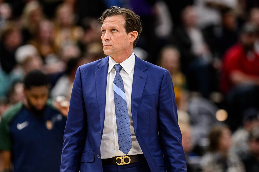 Gordon Monson: No pressure here. Jazz coach Quin Snyder eager, not anxious, to coach this team, amid raised expectations