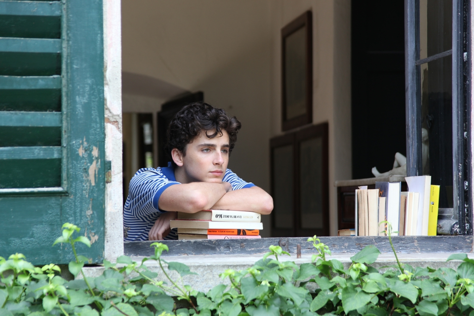 This image released by Sony Pictures Classics shows Timothee Chalamet in a scene from Call Me By Your Name. Chalamet was nominated for an Oscar for best actor on Tuesday, Jan. 23, 2018. The 90th Oscars will air live on ABC on Sunday, March 4. (Sony Pictures Classics via AP)