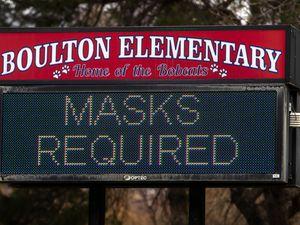 (Rick Egan   The Salt Lake Tribune) Boulton Elemetary School in Bountiful,Friday, Nov. 13, 2020.