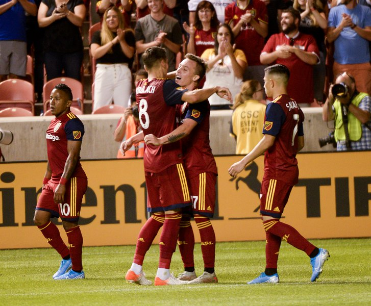 RSL is relishing the West's tight playoff race; San Jose is up next