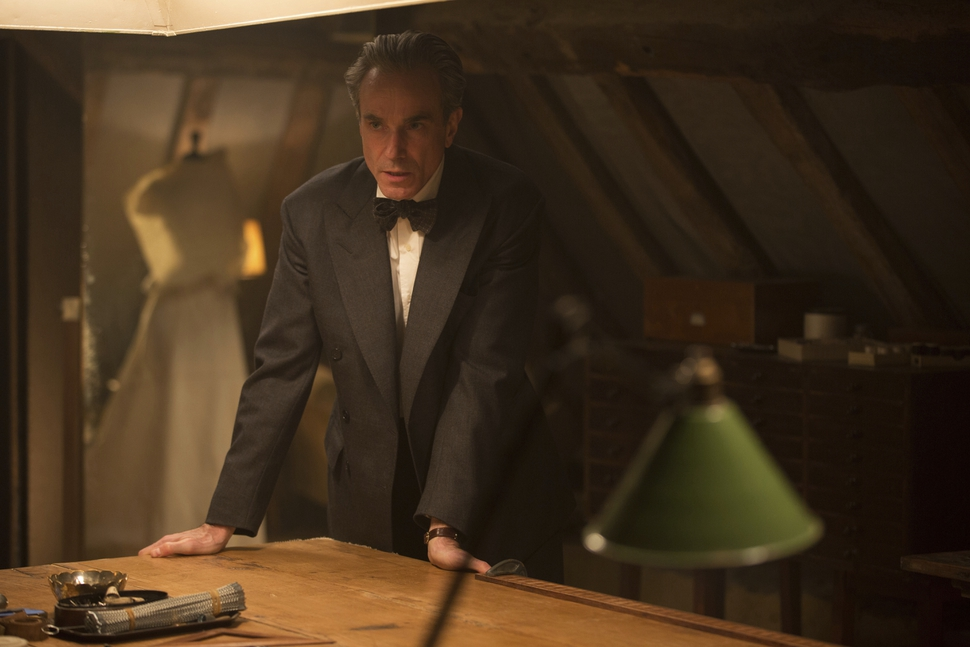 In this image released by Focus Features, Daniel Day-Lewis appears in a scene from Phantom Thread. (Laurie Sparham/Focus Features via AP)