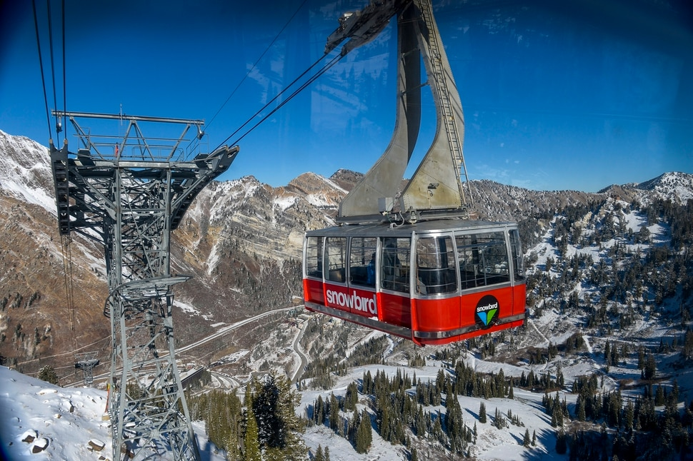 Leah Hogsten | The Salt Lake Tribune Snowbird resort, Nov. 12, 2018.