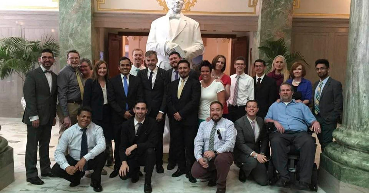 Mormon church makes historic donation to LGBTQ support group Affirmation for suicide prevention training