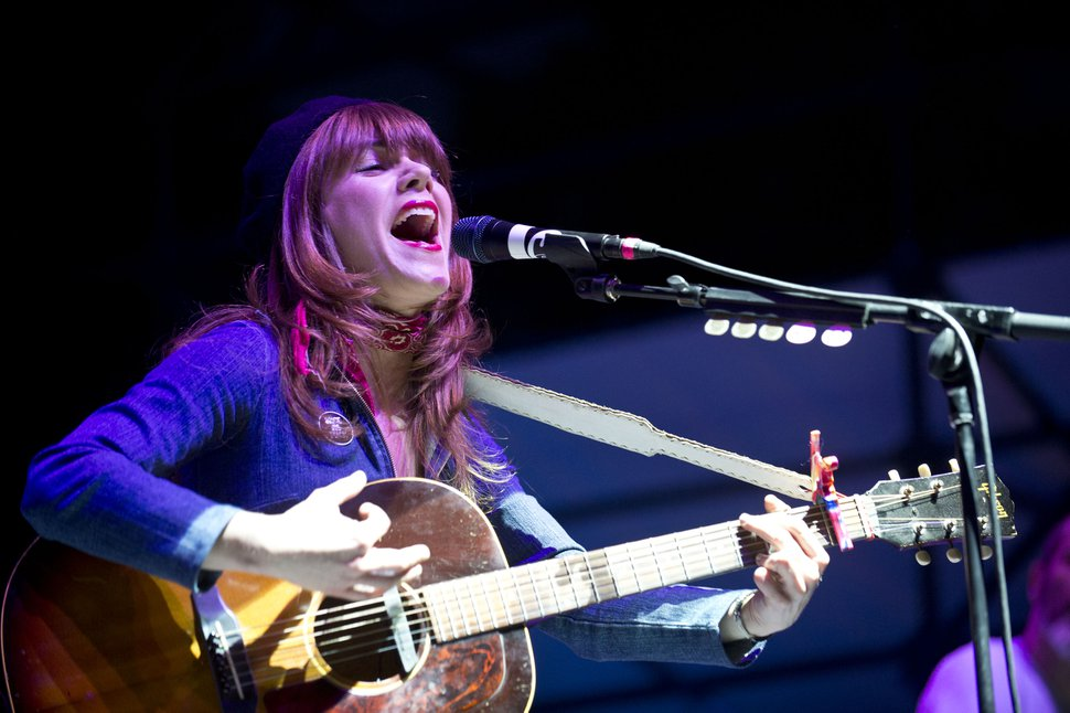 (Salt Lake Tribune file photo) Jenny Lewis, seen here at the 2016 Twilight Concert Series show in Salt Lake City, will perform in the Deer Valley Concert Series, July 11 at the Snow Park Outdoor Amphitheater at Deer Valley in Park City.