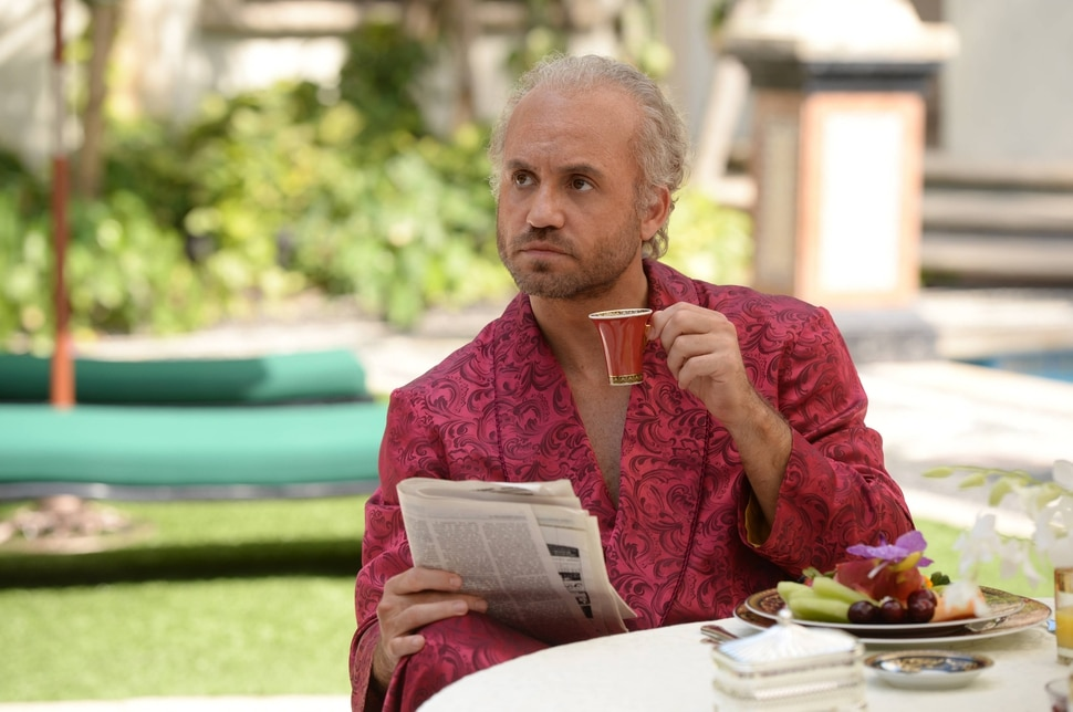 "(Courtesy of Jeff Daly/FX) Edgar Ramirez stars as Gianni Versace in the second season of ""American Crime Story."""