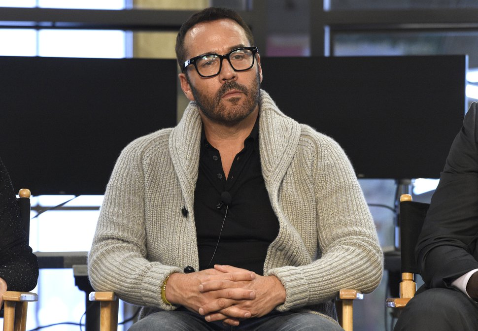 FILE - In this Aug. 1, 2017 file photo, Jeremy Piven participates in the