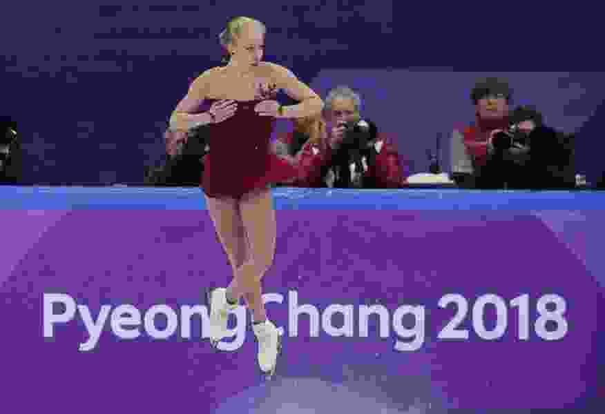 Bradie Tennell keeps U.S. hopes alive in Olympic team figure skating