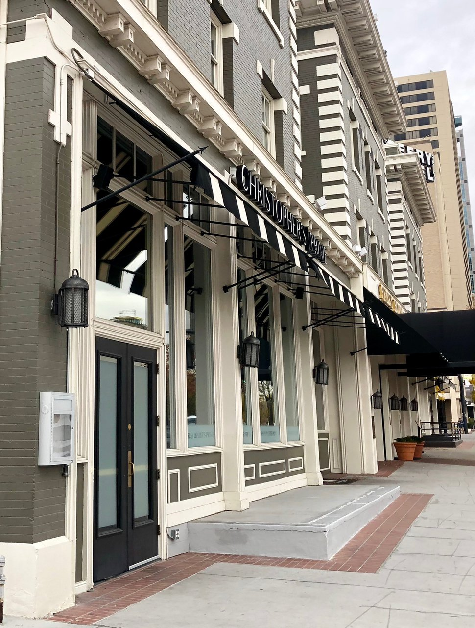 (Brodi Ashton | For The Salt Lake Tribune) Christopher's Prime Tavern and Grill has returned to Salt Lake City's Peery Hotel after several years on Pierpont Avenue.