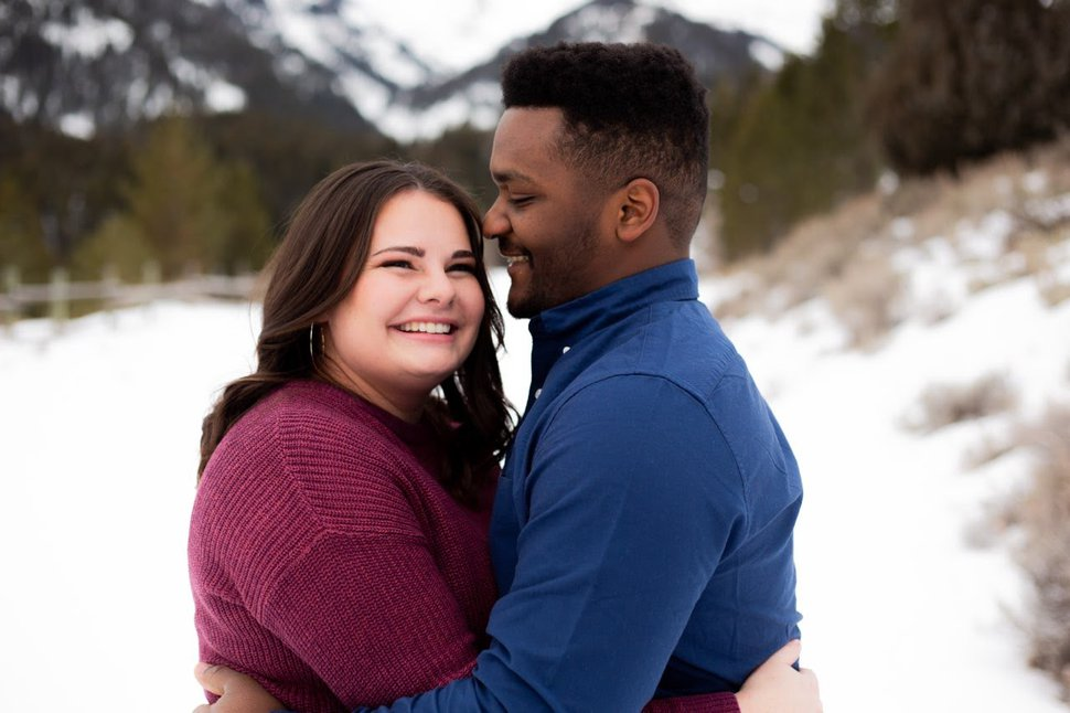 (Photo courtesy of Jessica Schoemig) Scarlett Musser and her fiance, Errick Spradley, decided to go ahead with their sealing at a Draper temple on March 28 like they planned, but postpone their wedding reception until a later date because of coronavirus.