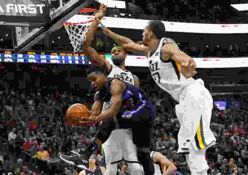 Jazz big men Rudy Gobert and Derrick Favors haven't let their size (or egos) get in the way of success