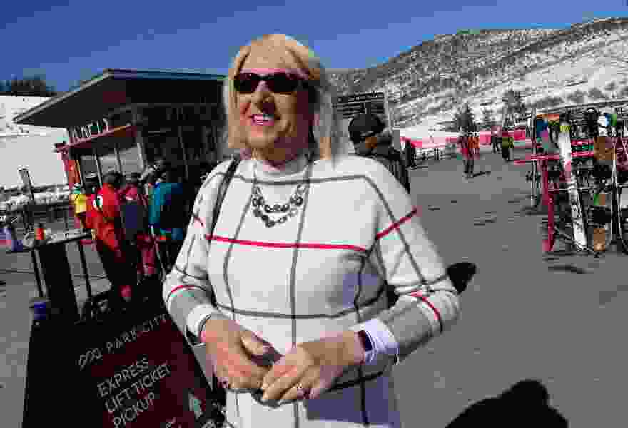Transgender woman hopes job as Park City ski resort greeter helps Utahns connect with LGBTQ community
