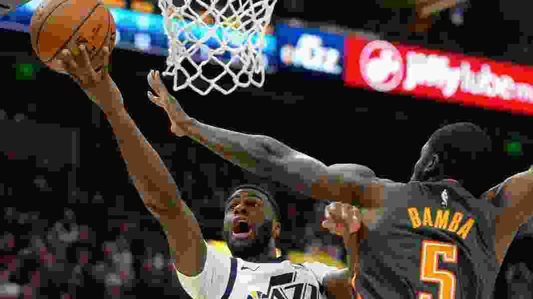 Utah Jazz happy to see Emmanuel Mudiay improve