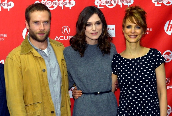 (Leah Hogsten | Tribune file photo) Mark Webber, from left, Keira Knightley and director Lynn Shelton at the