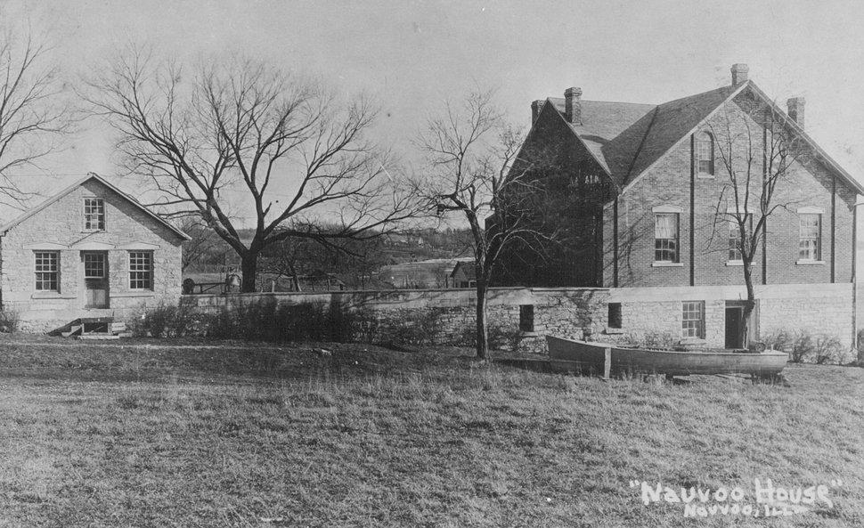 (Tribune file photo) Nauvoo House in Nauvoo, Illinois.