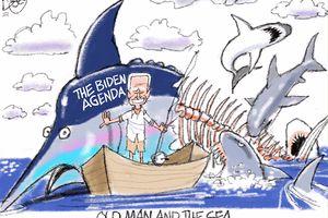 Old Man and the Sea | Pat Bagley