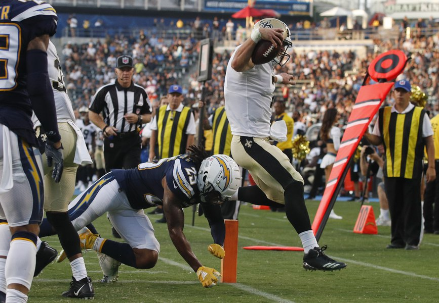 Former BYU quarterback Taysom Hill gives Saints a spark in 36-7 preseason  rout of Chargers da7d9d497
